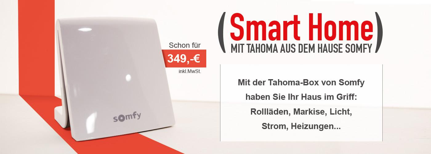 Somfy Tahoma Box für 349 Euro