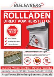 Rollladen und Insektenschutz zu Winterpreisen