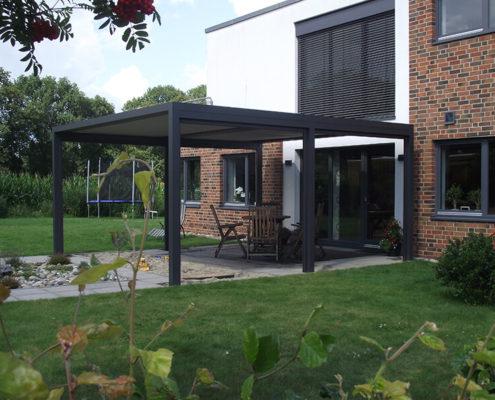 Novatop Qbus - Architektenhaus seitlich