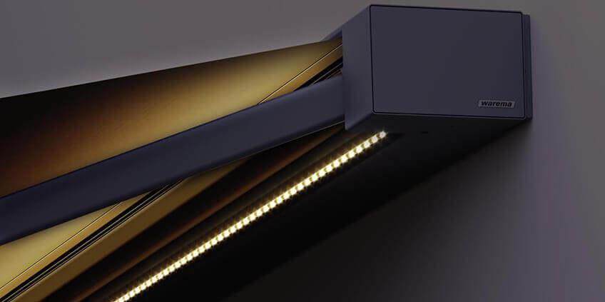 Warema Terrea K50 - LED beleuchtet Nahaufnahme