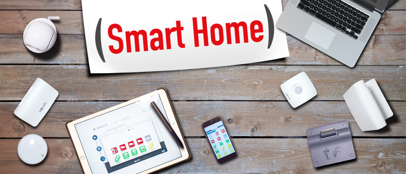 Smart Home Kopfgrafik
