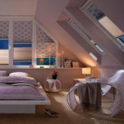 Plissee - Schlafzimmer - Dachschräge