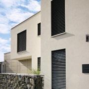 Warema Raffstore - Privat - schmale Fenster - Halb geöffnet