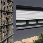 Rollladen - Fensterelement, Weiss