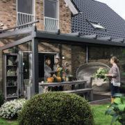 Terrassendach - Aussenansicht
