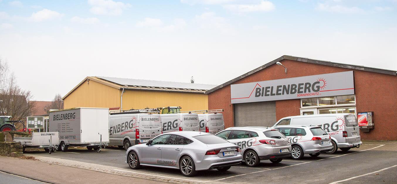 Werkstatt in Stapelfeld, Aussenansicht gross