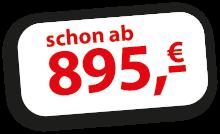 Balkonien ab 895 Euro